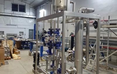 planta de calentamiento proceso