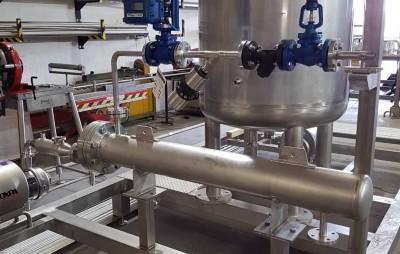 planta de recirculación CIP 2